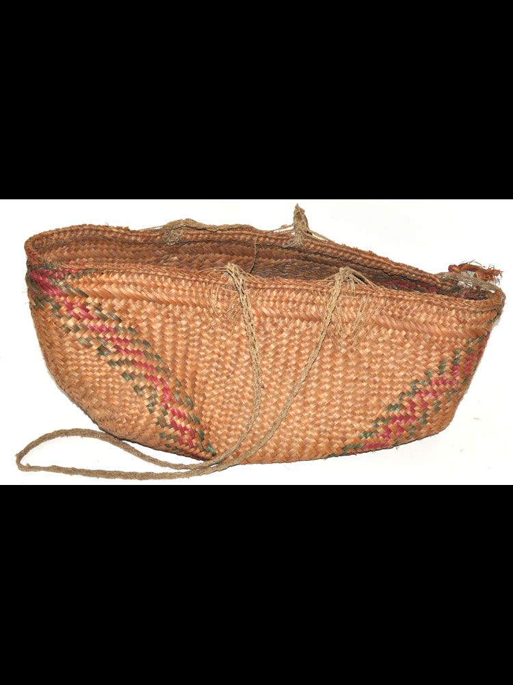 Sago Basket. A nice cultural piece from New Guinea - #8204