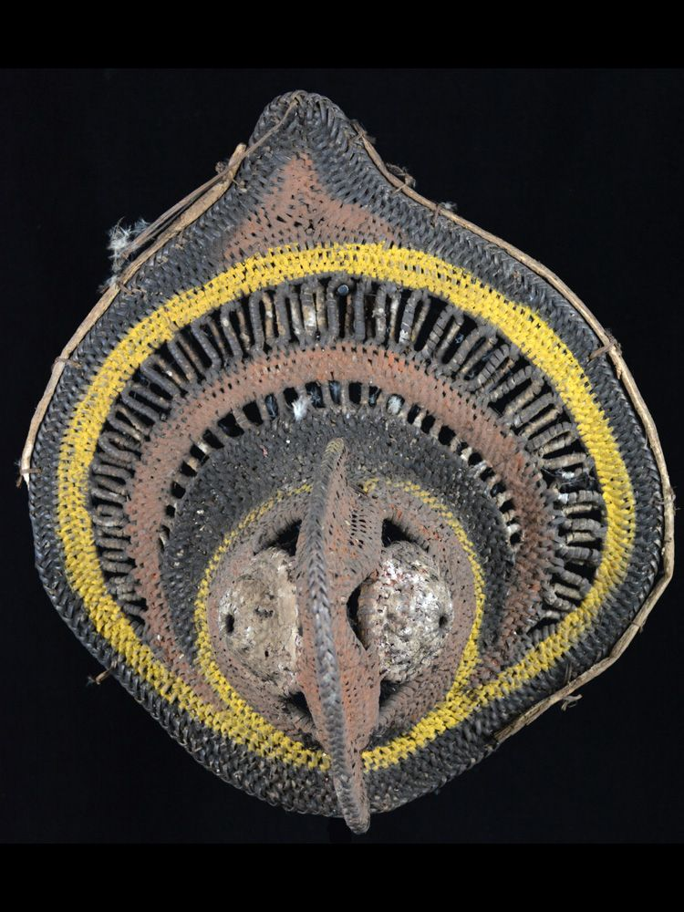 Fine Yam Ceremony Mask, Abelam People, Papua New Guinea - #10112