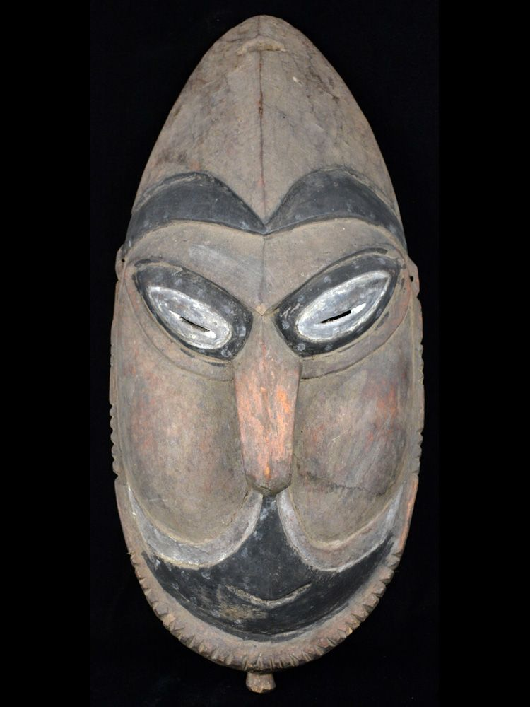 Classic Lower Sepik/Ramu Rivers Dance Costume Mask - #10289