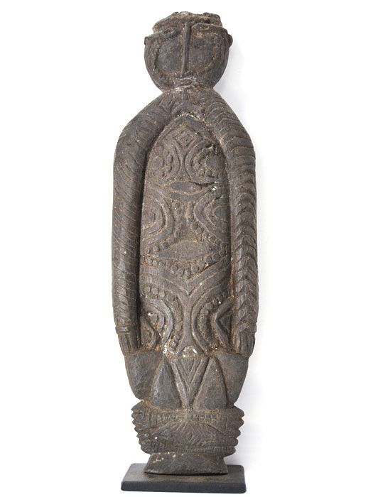 Sepik River Janus Figural Element, Papua New Guinea - #8626