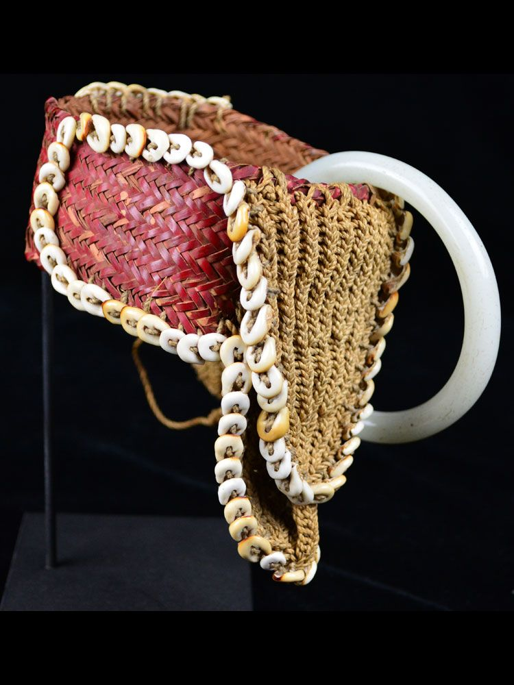 Beautiful Old Woven Highlands Armband, Papua New Guinea – #18-18