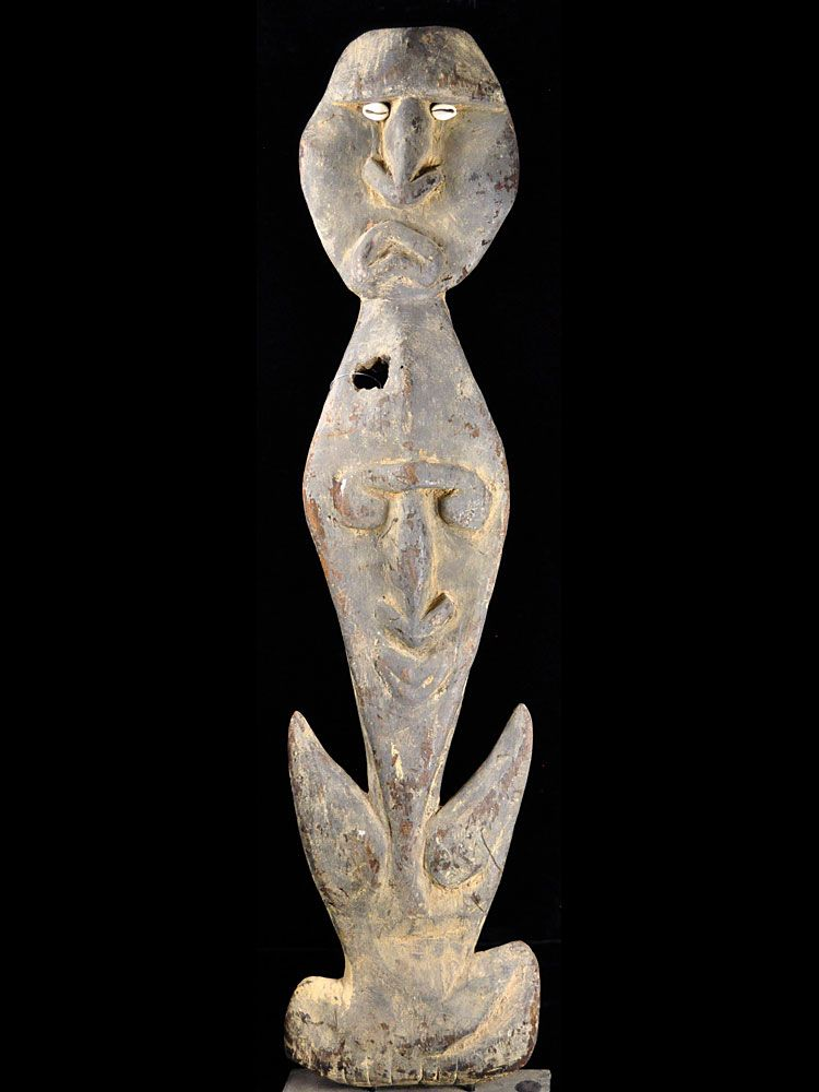 Hook Figure, upper Sepik River, New Guinea - #2176