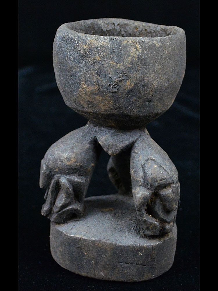 Betel Nut Mortar, Lower Sepik/Lower Ramu Rivers, Papua New Guinea - #18-19