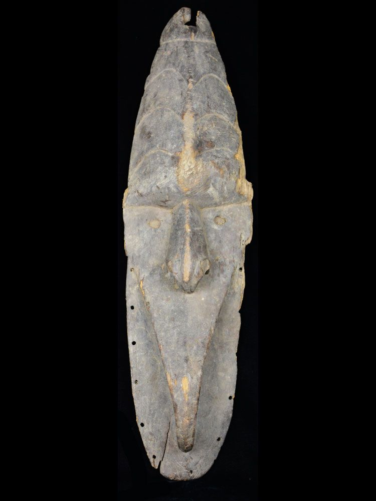 Very Old Mwai Mask, Middle Sepik River, New Guinea - 8482